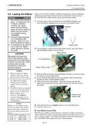 Toshiba TEC B-SX4T-QQ-QP Thermal Printer Owners Manual page 22