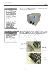 Toshiba TEC B-SX4T-QQ-QP Thermal Printer Owners Manual page 32