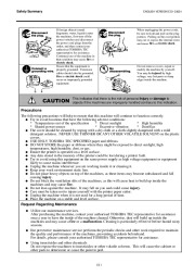 Toshiba TEC B-SX4T-QQ-QP Thermal Printer Owners Manual page 5