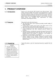 Toshiba TEC B-SX4T-QQ-QP Thermal Printer Owners Manual page 8