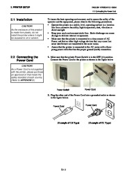 Toshiba B-SA4TP Thermal Printer Owners Manual page 15