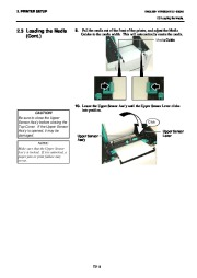 Toshiba B-SA4TP Thermal Printer Owners Manual page 18