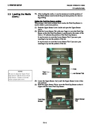 Toshiba B-SA4TP Thermal Printer Owners Manual page 19