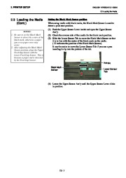 Toshiba B-SA4TP Thermal Printer Owners Manual page 20