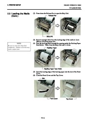 Toshiba B-SA4TP Thermal Printer Owners Manual page 22
