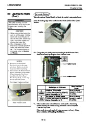 Toshiba B-SA4TP Thermal Printer Owners Manual page 23
