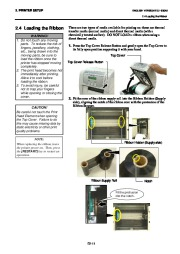 Toshiba B-SA4TP Thermal Printer Owners Manual page 24