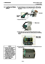 Toshiba B-SA4TP Thermal Printer Owners Manual page 25