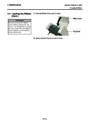 Toshiba B-SA4TP Thermal Printer Owners Manual page 26