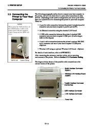 Toshiba B-SA4TP Thermal Printer Owners Manual page 27