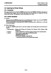Toshiba B-SA4TP Thermal Printer Owners Manual page 43