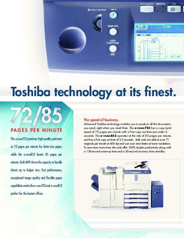 toshiba quality manual