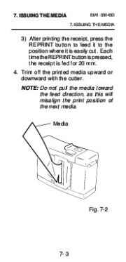 Toshiba TEC B-210 EM1-33043D Portable Printer Owners Manual page 35