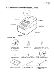 Toshiba TEC DRJST-51 Receipt Journal Printer Owners Manual page 7
