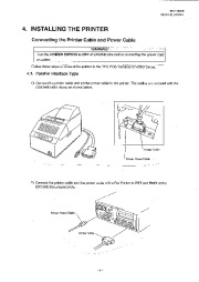 Toshiba TEC DRJST-51 Receipt Journal Printer Owners Manual page 9