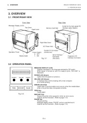 Toshiba TEC B-670 Thermal Printer Owners Manual page 10