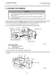 Toshiba TEC B-670 Thermal Printer Owners Manual page 14