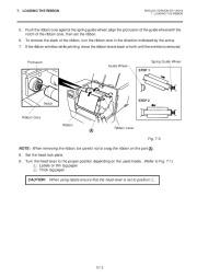 Toshiba TEC B-670 Thermal Printer Owners Manual page 15