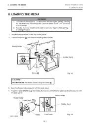 Toshiba TEC B-670 Thermal Printer Owners Manual page 16