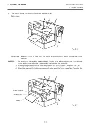 Toshiba TEC B-670 Thermal Printer Owners Manual page 19
