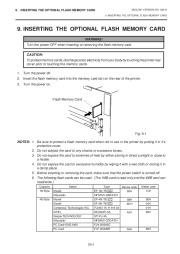 Toshiba TEC B-670 Thermal Printer Owners Manual page 21
