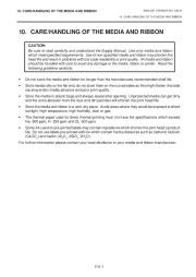 Toshiba TEC B-670 Thermal Printer Owners Manual page 22