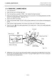 Toshiba TEC B-670 Thermal Printer Owners Manual page 26