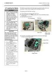 Toshiba TEC B-SH4T-QQ-QP Thermal Printer Owners Manual page 16