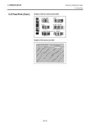 Toshiba TEC B-SH4T-QQ-QP Thermal Printer Owners Manual page 26