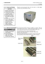 Toshiba TEC B-SH4T-QQ-QP Thermal Printer Owners Manual page 31