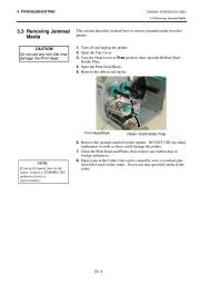 Toshiba TEC B-SH4T-QQ-QP Thermal Printer Owners Manual page 35