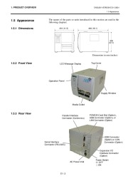 Toshiba TEC B-SH4T-QQ-QP Thermal Printer Owners Manual page 9