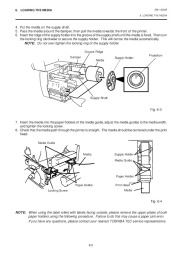 Toshiba TEC B-570-QQ Thermal Printer Owners Manual page 13
