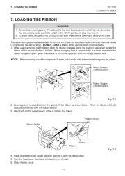 Toshiba TEC B-570-QQ Thermal Printer Owners Manual page 18