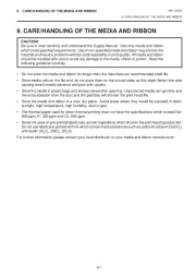 Toshiba TEC B-570-QQ Thermal Printer Owners Manual page 20