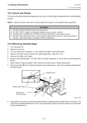 Toshiba TEC B-570-QQ Thermal Printer Owners Manual page 22