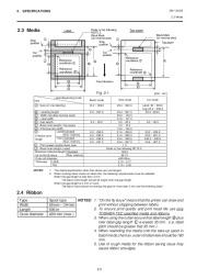 Toshiba TEC B-570-QQ Thermal Printer Owners Manual page 8