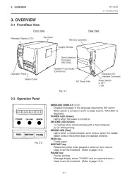 Toshiba TEC B-570-QQ Thermal Printer Owners Manual page 9