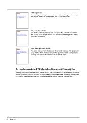 Toshiba E-Studio 202L 232 282 203L 233 283 352 452 353 453 520 600 720 850 523 603 723 853 281c 351c 451c Copier Manual page 8