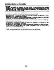 Toshiba TEC B-EP2DL B-EP4DL Portable Printer Owners Manual page 12