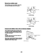 Toshiba TEC B-EP2DL B-EP4DL Portable Printer Owners Manual page 22