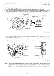 Toshiba TEC B-470-QQ Printer Owners Manual page 14