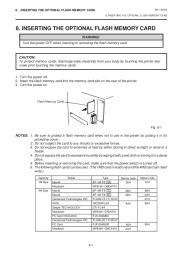 Toshiba TEC B-470-QQ Printer Owners Manual page 20