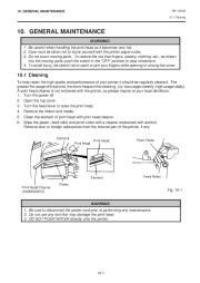 Toshiba TEC B-470-QQ Printer Owners Manual page 22