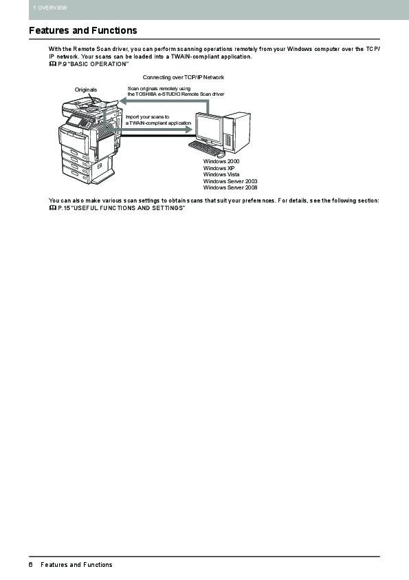 Demo de escaneado con metadatos en equipo toshiba e-2330c con e.