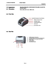 Toshiba TEC B-SV4T-GS10-QM Label Printer Owners Manual page 8