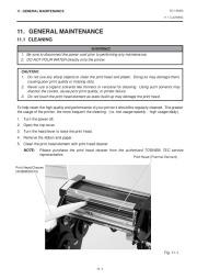Toshiba TEC B-450-QQ Printer Owners Manual page 19
