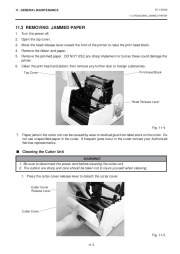 Toshiba TEC B-450-QQ Printer Owners Manual page 21