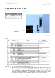 Toshiba TEC B-450-QQ Printer Owners Manual page 9
