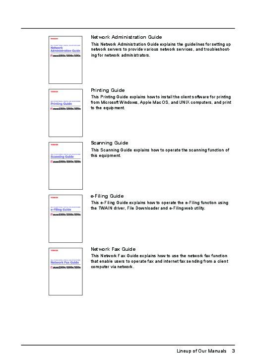 E studio 2500c Service Manual